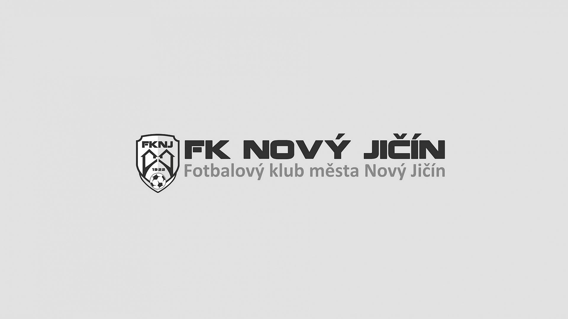 Obce2020.cz - Fotbalový klub Nový Jičín: Logo s textem - šedé