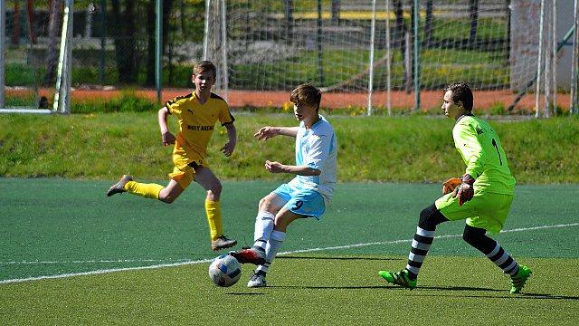 St. žáci KP MU 19. kolo: FK Nový Jičín - MFK Kravaře 1:1 (1:1)
