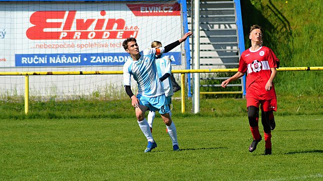 St. žáci KP MU 14. kolo: Spolek SK Brušperk - FK Nový Jičín 3:4 (2:2)