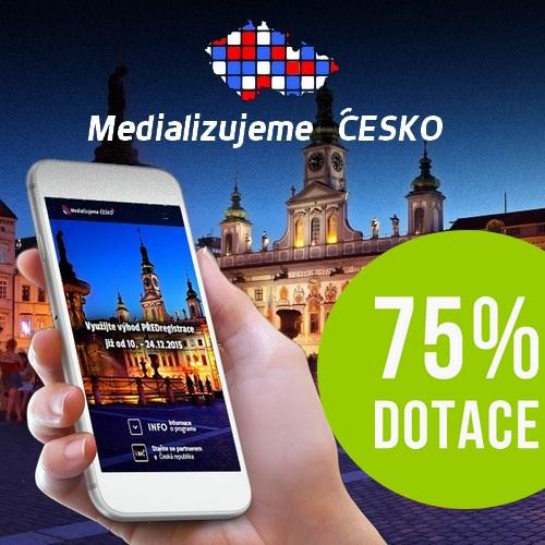Medializujeme Česko – Program na podporu obcí